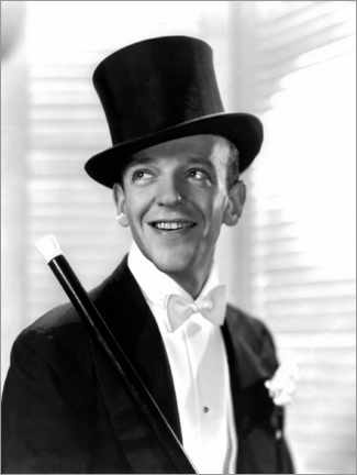 Póster  Fred Astaire, Top Hat, 1935