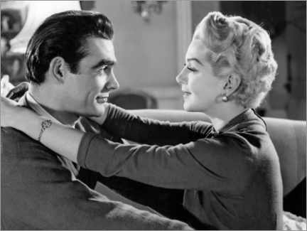 Póster  Sean Connery And Lana Turner, Another Time, Another Place 1958