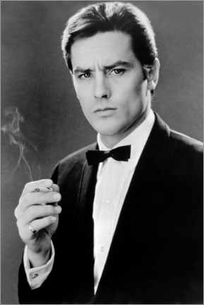 Póster  Alain Delon, Any Number Can Win, 1963