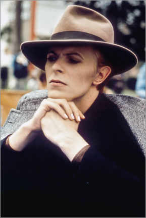 Lienzo  David Bowie, 'Man Who Fell To Earth', 1976