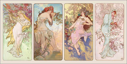 Póster The four Seasons