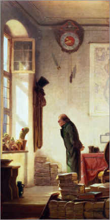 Lienzo  The Cactus Lover - Carl Spitzweg