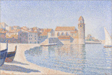 Póster  Vista de Collioure - Paul Signac