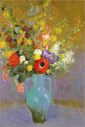 Póster Bouquet of Wild Flowers