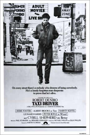 Lienzo  Taxi Driver