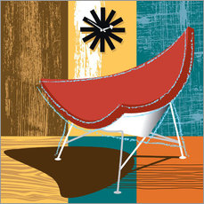 Vinilo para la pared coconut chair