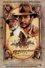 Póster  Indiana Jones y la última cruzada - Entertainment Collection