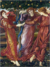 Cuadro de plexi-alu  Garden of the Hesperides - Edward Burne-Jones