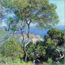 Póster  Bordighera - Claude Monet