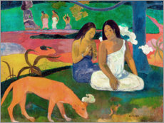 Cuadro de metacrilato  Arearea - Paul Gauguin