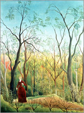 Cuadro de plexi-alu  The Walk in the Forest - Henri Rousseau