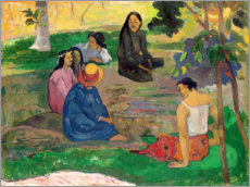 Cuadro de aluminio  The conversation - Paul Gauguin