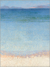 Vinilo para la pared  Las islas d'Or - Henri Edmond Cross