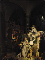 Cuadro de plexi-alu  The Alchymist - Joseph Wright of Derby