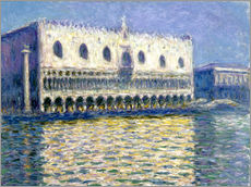 Vinilo para la pared  The Ducal Palace - Claude Monet