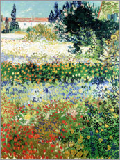 Póster Garden in Bloom, Arles