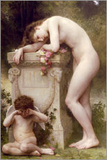 Vinilo para la pared  Elegy - William Adolphe Bouguereau