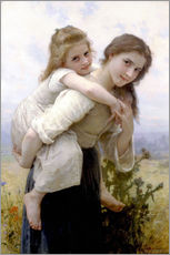 Vinilo para la pared  Not hard to bear - William Adolphe Bouguereau