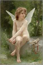 Cuadro de plexi-alu  Cupido - William Adolphe Bouguereau
