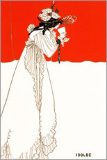 Vinilo para la pared  Isolde - Aubrey Vincent Beardsley