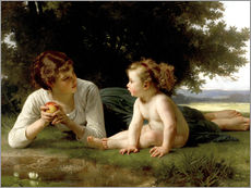 Vinilo para la pared  Temptation - William Adolphe Bouguereau