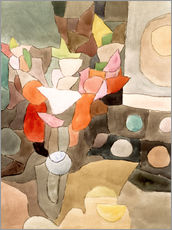 Vinilo para la pared  Gladiolus Still Life - Paul Klee
