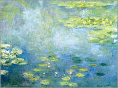 Vinilo para la pared  Nenúfares en el estanque - Claude Monet