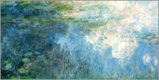 Cuadro de metacrilato  Waterlilies, panel C II. - Claude Monet