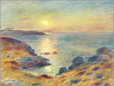 Póster Sunset in Douarnenez