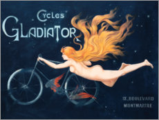 Vinilo para la pared  Cycles Gladiator - Georges Massias