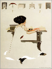 Vinilo para la pared  Know all men by these presents - Clarence Coles Phillips