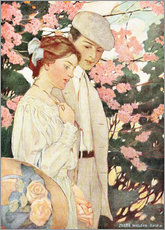 Cuadro de plexi-alu  Lovers - Jessie Willcox Smith