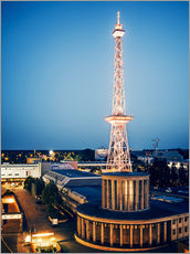 Vinilo para la pared  Berlin - Funkturm Radio Tower - Alexander Voss