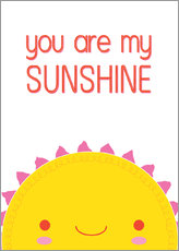 Cuadro de plexi-alu  You are my sunshine - Kat Kalindi Cameron