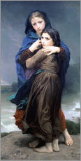 Cuadro de plexi-alu  The Storm - William Adolphe Bouguereau