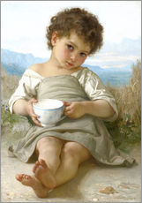 Cuadro de plexi-alu  A little break - William Adolphe Bouguereau