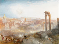 Vinilo para la pared  Roma moderna - Joseph Mallord William Turner