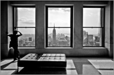 Vinilo para la pared  Nueva York, Top of the Rock - Thomas Splietker