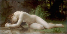 Cuadro de plexi-alu  Biblis - William Adolphe Bouguereau