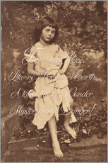 Vinilo para la pared  Alice Liddell (Alice in Wonderland)