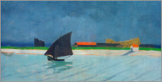 Cuadro de plexi-alu  The mouth of the Seine - Felix Edouard Vallotton