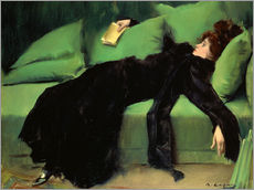 Vinilo para la pared  Después del baile - Ramon Casas i Carbo