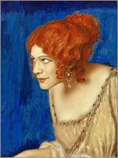 Cuadro de plexi-alu  Tilla Durieux as Circe - Franz von Stuck