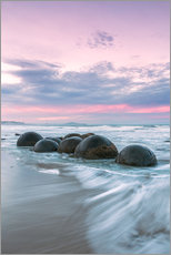 Vinilo para la pared  Moeraki boulders, New Zealand - Matteo Colombo