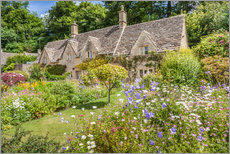 Cuadro de plexi-alu  Old Cottages in Bibury, Cotswolds, Gloucestershire (England) - Christian Müringer