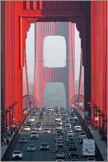Cuadro de plexi-alu  Golden Gate Bridge, San Francisco, USA - Peter Wey