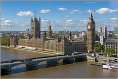 Cuadro de plexi-alu  Westminster Bridge with Houses of Parliament - Walter Rawlings