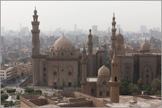 Vinilo para la pared  Mosque of Sultan Hassan in Cairo old town, Cairo, Egypt, North Africa, Africa - Martin Child