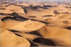Vinilo para la pared  Aerial view of the dunes of the Namib Desert, Namibia, Africa - Roberto Moiola