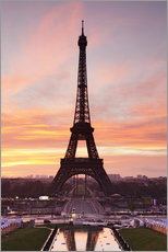 Cuadro de plexi-alu  Eiffel Tower at sunrise - Markus Lange